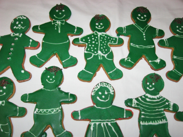 My very first cookies in 2008.