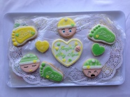 A sampling from my latest set for a neighbor's baby shower.