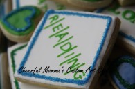 Word Puzzle Cookie 2 by Cheerful Momma's Custom Art Cookies