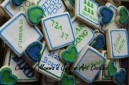Word Puzzle Cookie 3 by Cheerful Momma's Custom Art Cookies
