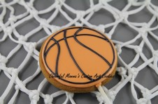 Basketball Cookie Pop