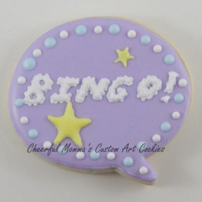 Bingo Speech Bubble Font 3