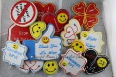 Doctor Cookies 2 by Cheerful Momma's Custom Art Cookies