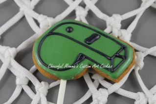 Whistle Cookie by Cheerful Momma's Custom Art Cookies