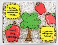 Boxed Teacher Cookie Gift Set 1
