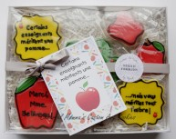 Boxed Teacher Cookie Gift Set