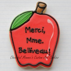 Thank You Teacher Apple French