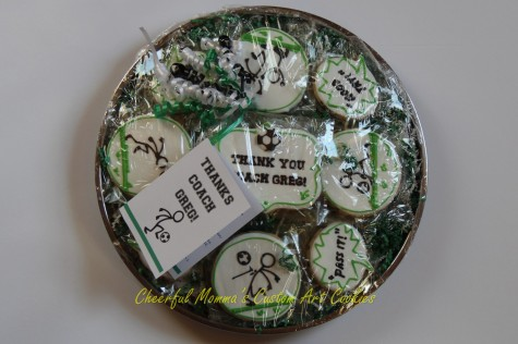 Packaged Soccer Cookies