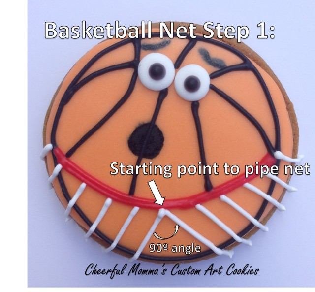 Piping Basketball Net Instructions by Cheerful Momma Step 1