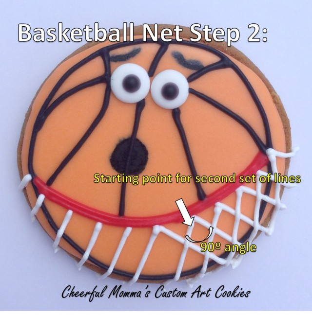 Piping Basketball Net Instructions by Cheerful Momma Step 2