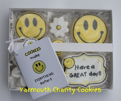 Have a Great Day Packaged Cookie Set by Yarmouth Charity Cookies