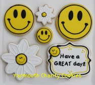 Have a Great Day Unpackaged Cookie Set by Yarmouth Charity Cookies