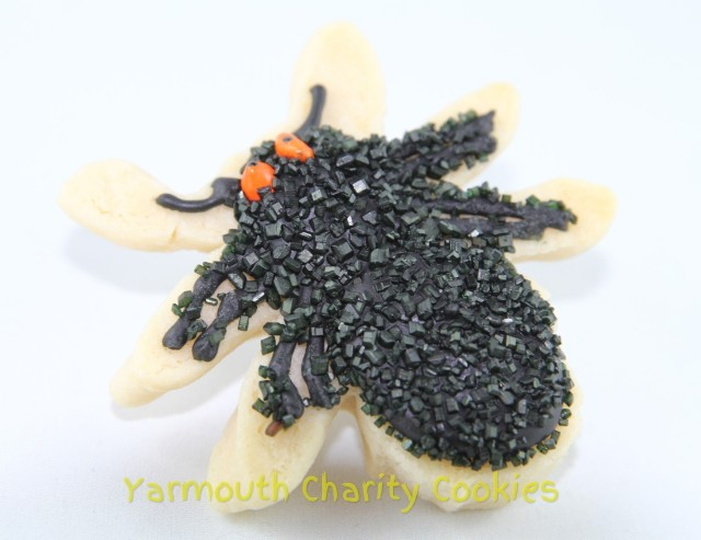 Spider Cookie by Yarmouth Charity Cookies