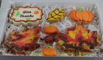Thanksgiving Cookies Set Yarmouth Charity Cookies