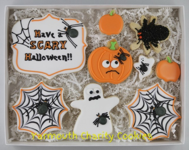 Unpackaged Halloween Cookies by Yarmouth Charity Cookies