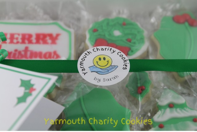 Logo Close up Yarmouth Charity Cookies