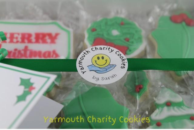 Logo Close up Yarmouth Charity Cookies