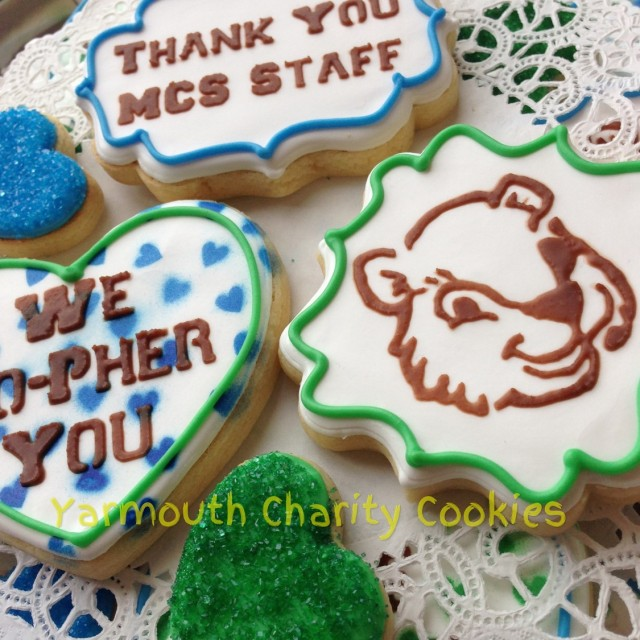 Gopher Cookies by Yarmouth Charity Cookies