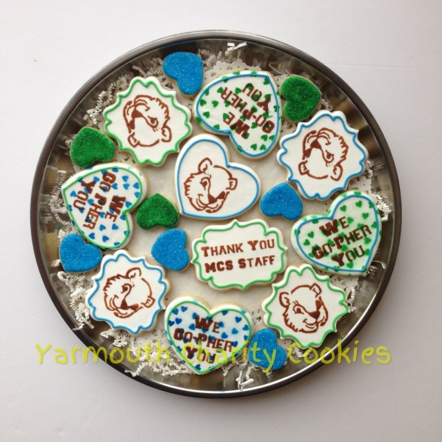 We Go-Pher You Tray Bottom Layer by Yarmouth Charity Cookies