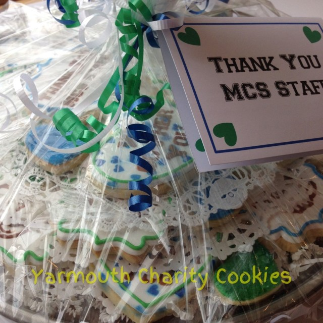 We Go-Pher You Tray Close Up by Yarmouth Charity Cookies