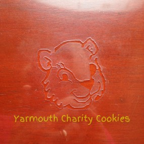 Gopher Head Cookie Stencil by Yarmouth Charity Cookies
